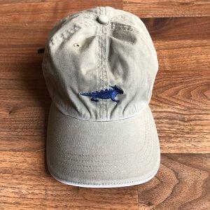 Horny Toad Tan Blue Cotton Baseball Hat Cap